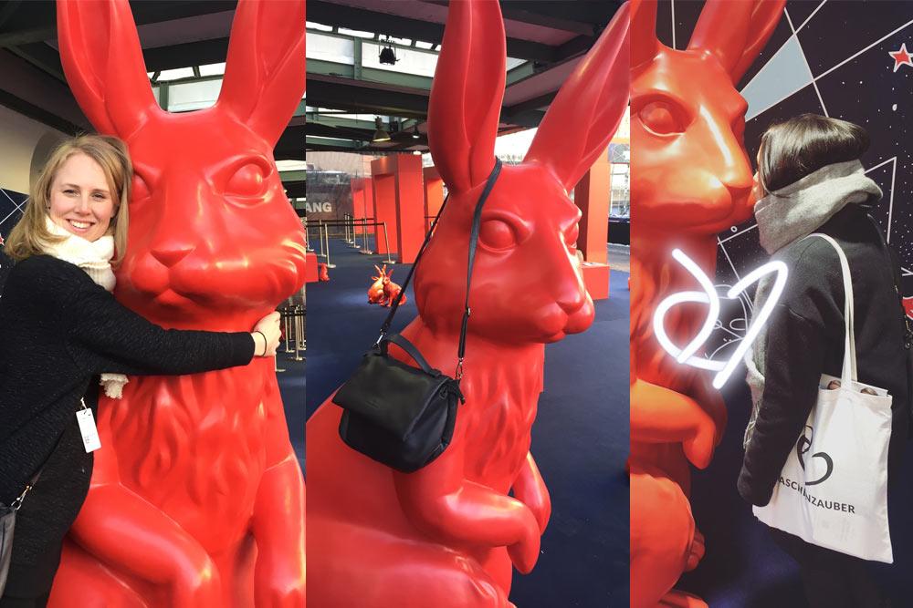 Taschenzauber und magische Hasen auf der Fashion Week Berlin